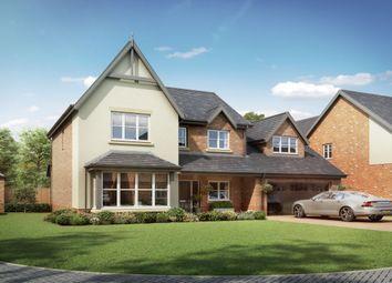 Thumbnail 4 bedroom detached house for sale in Medburn Park, Medburn Village, Newcastle Upon Tyne