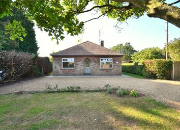 Thumbnail 4 bed detached bungalow to rent in Hall Road, Clenchwarton, King's Lynn