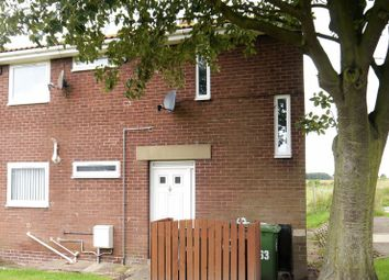 Thumbnail 1 bedroom flat for sale in Red House Farm Estate, Bedlington