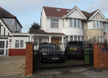 5 bed terraced house for sale in Somervell Road, Harrow HA2