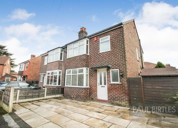 Thumbnail 3 bed semi-detached house for sale in Balmoral Avenue, Urmston