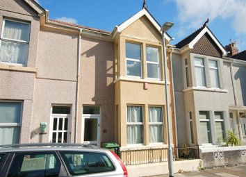 Thumbnail 2 bed terraced house for sale in Edgcumbe Avenue, Stoke, Plymouth