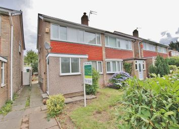 Thumbnail 3 bed semi-detached house for sale in Helton Close, Prenton, Wirral