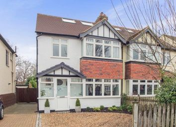 Thumbnail 4 bed semi-detached house for sale in East Molesey, Surrey