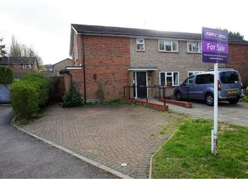 Thumbnail 2 bedroom maisonette for sale in Oakley Road, Harpenden