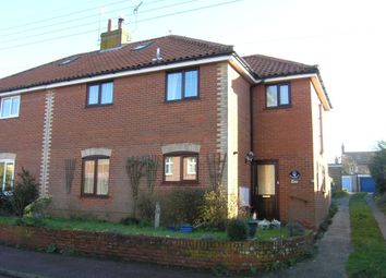 Thumbnail 3 bed semi-detached house for sale in Hotson Road, Southwold, Suffolk