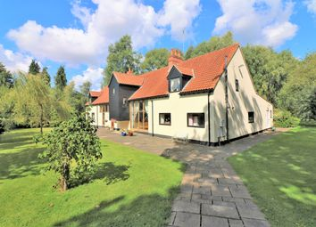 Thumbnail 5 bed detached house for sale in Rushmeadow Road, Dereham