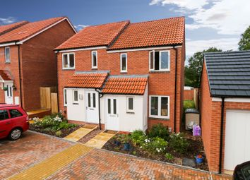Thumbnail 2 bed semi-detached house for sale in Morgan Sweet, Cranbrook, Exeter