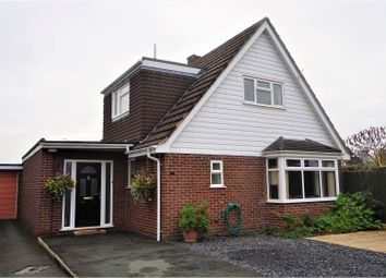 Thumbnail 3 bed detached house for sale in Coolock Close, Shrewsbury