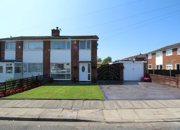 Thumbnail 3 bed semi-detached house for sale in Woburn Drive, Bury