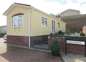 Thumbnail 2 bedroom mobile/park home for sale in Regent Avenue, Cambrian Residential Park, Cardiff