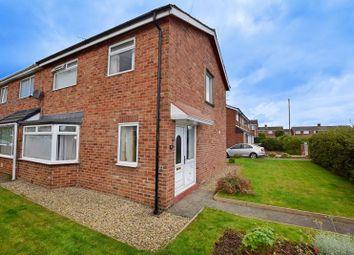 Thumbnail 3 bed semi-detached house for sale in Ridgeway, Choppington