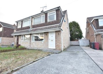 Thumbnail 3 bed semi-detached house for sale in Crediton Close, Livesey, Blackburn, Lancashire