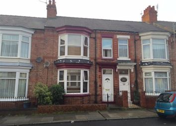 Thumbnail 4 bed terraced house to rent in Clifton Road, Darlington