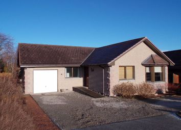Thumbnail 3 bed bungalow for sale in Burnbank Road, Alford