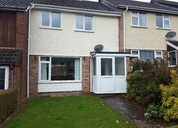 Thumbnail 3 bed terraced house to rent in Garnstone Rise, Tupsley, Hereford