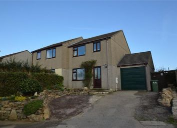 Thumbnail 3 bedroom semi-detached house for sale in Collygree Parc, Goldsithney, Penzance, Cornwall