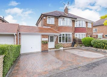 Thumbnail 3 bed semi-detached house for sale in Needham Avenue, Glen Parva, Leicester
