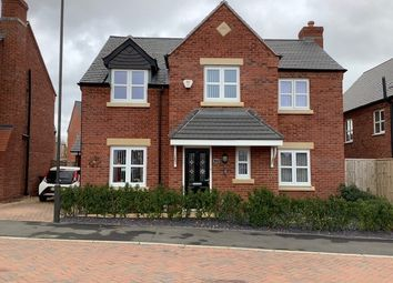 Thumbnail 4 bed detached house for sale in Cinder Avenue, Swadlincote