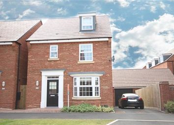 Thumbnail 4 bed detached house for sale in Bayswater Square, Stafford