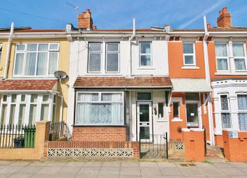 Thumbnail 3 bedroom terraced house for sale in Meon Road, Southsea