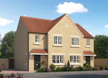 Thumbnail 3 bed semi-detached house for sale in Stonegarth, Cross Stree, Barnsley