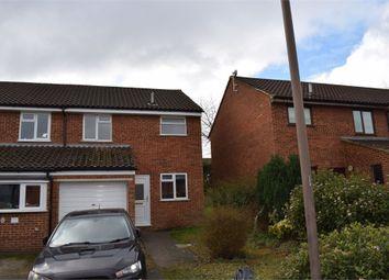 Thumbnail 3 bed semi-detached house to rent in Naseby Court, Bradville, Milton Keynes, Buckinghamshire