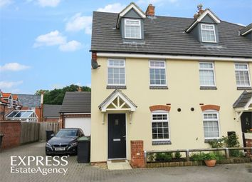 Thumbnail 3 bed end terrace house for sale in Buttercup Way, Witham St Hughs, Lincoln