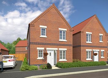 "Thumbnail 3 bed semi-detached house for sale in ""The Hamilton"" at Wellow Road, Ollerton, Newark"