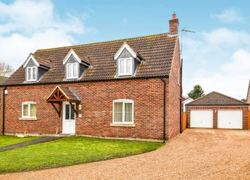 Thumbnail 3 bed property for sale in Ivy Close, Setchey, King's Lynn
