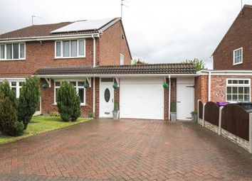 Thumbnail 2 bed semi-detached house for sale in Leybourne Crescent, Pendeford, Wolverhampton, West Midlands