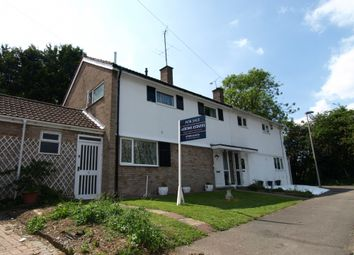 Thumbnail 3 bed semi-detached house for sale in Beech Road, Newport Pagnell, Buckinghamshire