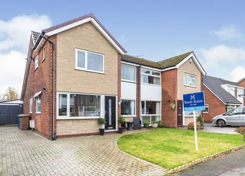 Thumbnail 3 bed semi-detached house for sale in Hartwood Green, Chorley, Lancashire