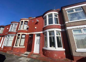 Thumbnail 2 bed terraced house to rent in Oakbank Street, Wallasey, Merseyside