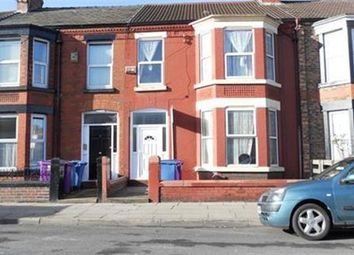 Thumbnail 7 bed flat to rent in Bagot Street, Wavertree, Liverpool