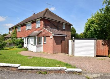 Thumbnail 3 bed semi-detached house for sale in Meadowcroft Close, East Grinstead, West Sussex