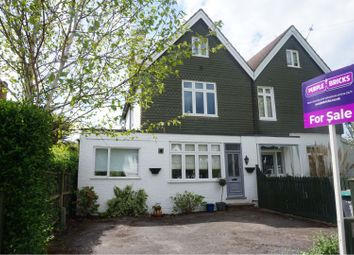 Thumbnail 4 bed semi-detached house for sale in Montagu Road, Datchet