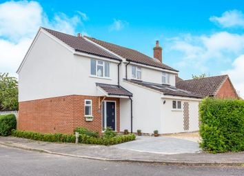 Thumbnail 4 bed detached house for sale in Fennemore Close, Oakley, Aylesbury