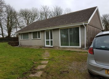 Thumbnail 3 bed detached bungalow to rent in Velindre, Crymych