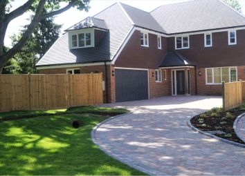 Thumbnail 4 bed detached house for sale in Five Oak Green Road, Tonbridge
