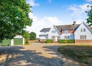 Thumbnail 5 bedroom detached house for sale in Woodrolfe Farm Lane, Tollesbury, Maldon