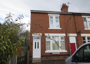 Thumbnail 2 bed end terrace house to rent in Burnside Street, Alvaston, Derby