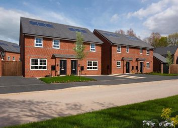 "Thumbnail 3 bedroom semi-detached house for sale in ""Barton"" at Texan Close, Warton, Preston"