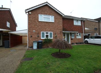 Thumbnail 3 bed semi-detached house for sale in Addlestone, Surrey
