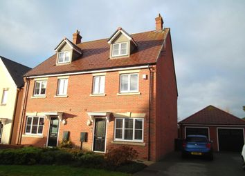 Thumbnail 4 bed property to rent in Oak Grove, Northampton