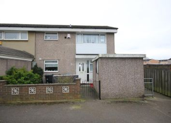 Thumbnail 3 bedroom terraced house to rent in Yeadon Garth, Bransholme, Hull