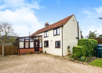 Thumbnail 3 bed detached house for sale in Donington Road, Horbling, Sleaford