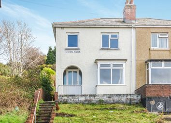 Thumbnail 3 bed end terrace house for sale in Lydford Avenue, St. Thomas, Swansea