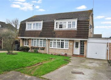 Thumbnail 3 bed semi-detached house to rent in Gaiger Close, Springfield, Chelmsford