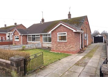 Thumbnail 2 bed semi-detached bungalow for sale in Mayne Street, Stoke-On-Trent